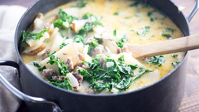 Copycat Olive Garden™ Zuppa Toscana Soup | Recette | Pinterest