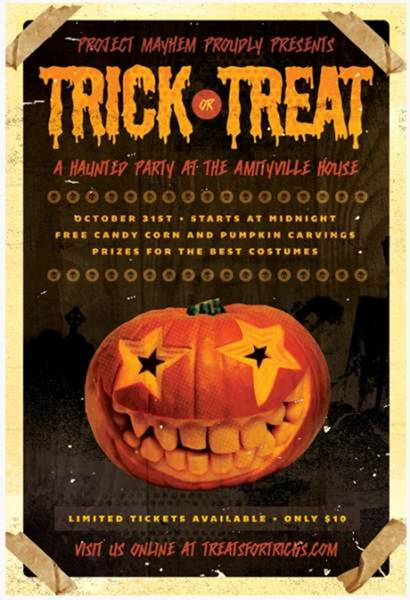 trick or treat halloween flyer template by rod my inspirations