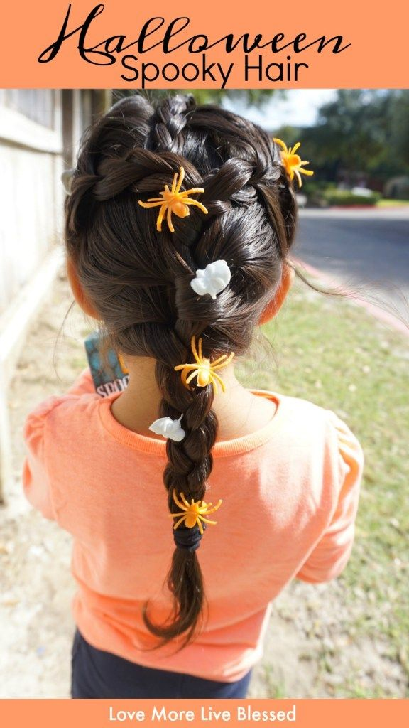 Cute Halloween Hairstyles