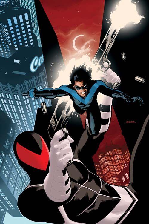Nightwing vs Vigilante by Ryan Sook