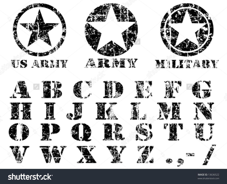 stockvectorvectormilitaryvintagefont13636522.jpg
