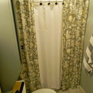 Two Panel Shower Curtain