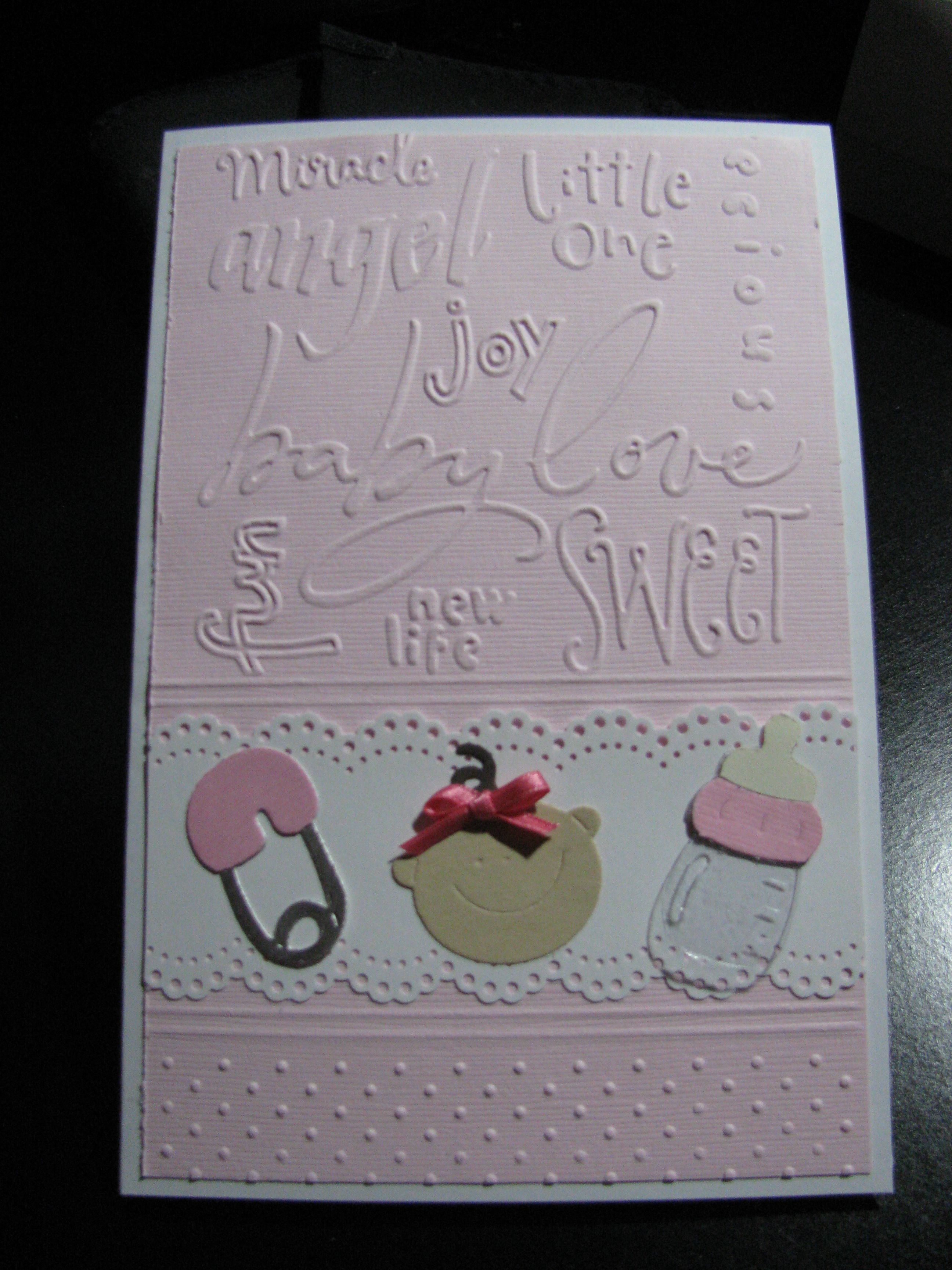 Card Making Ideas Using Cuttlebug Part - 17: From The Card Board Of Edith Scott Who Pins The Most Beautiful Cards