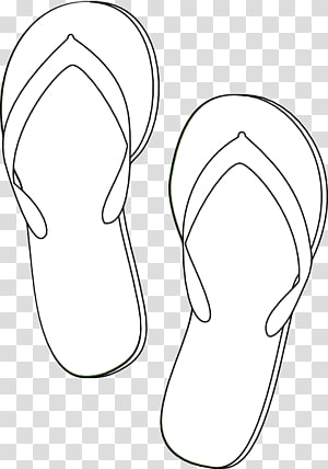 Pin By Maggi Klick On Flip Flops Baby Pink Shoes Drawings Silhouette Sketch