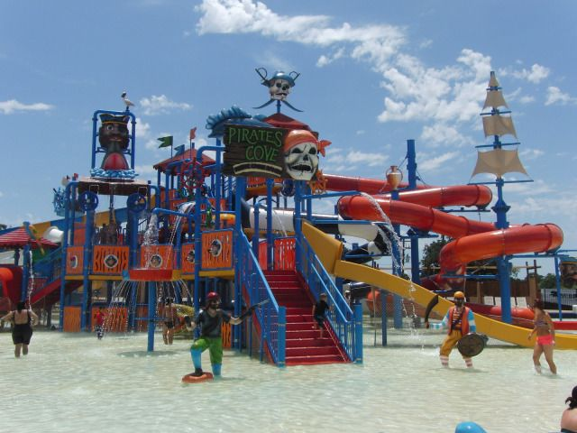 Pirates Cove Waterpark At Yogi Bear S Jellystone Park At