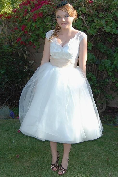 Dolly Couture vintage wedding dress