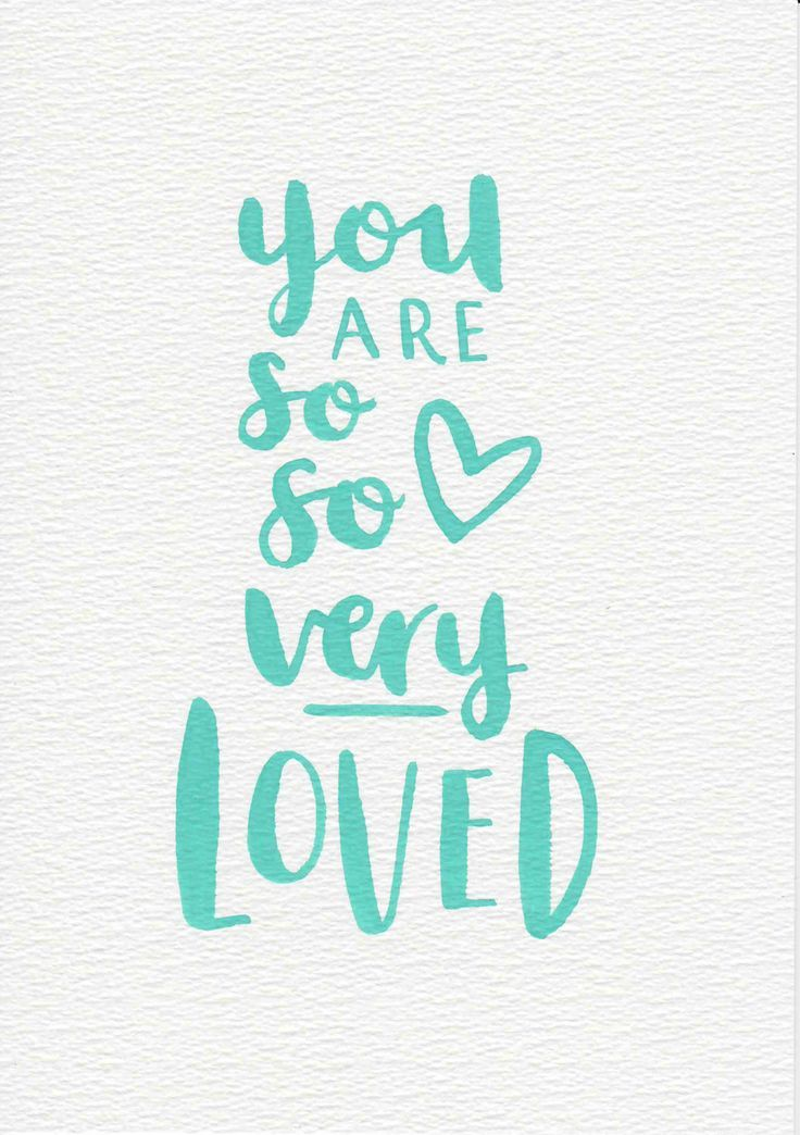 Mint Nursery Art Baby Gift You Are Loved Nursery Quote Mint