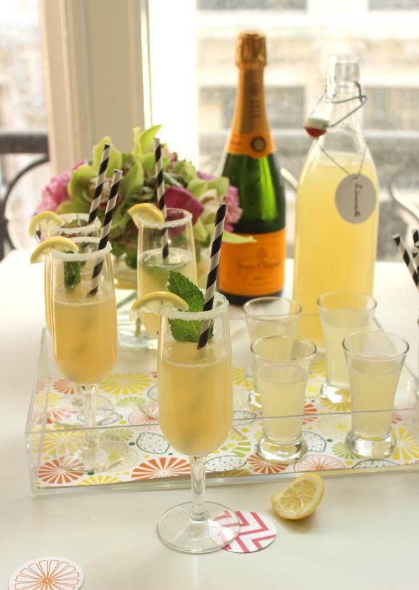 Delightful Summer Cocktail Party Ideas Part - 4: Add Some Pop Of Delicious Citrus To Your Summer Cocktail Party With This  Lovely Limoncello Cocktail Party! Make Some Homemade Limoncello, ...