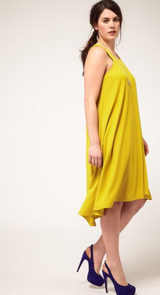 I love a great dress and loving this color... ASOS Curve