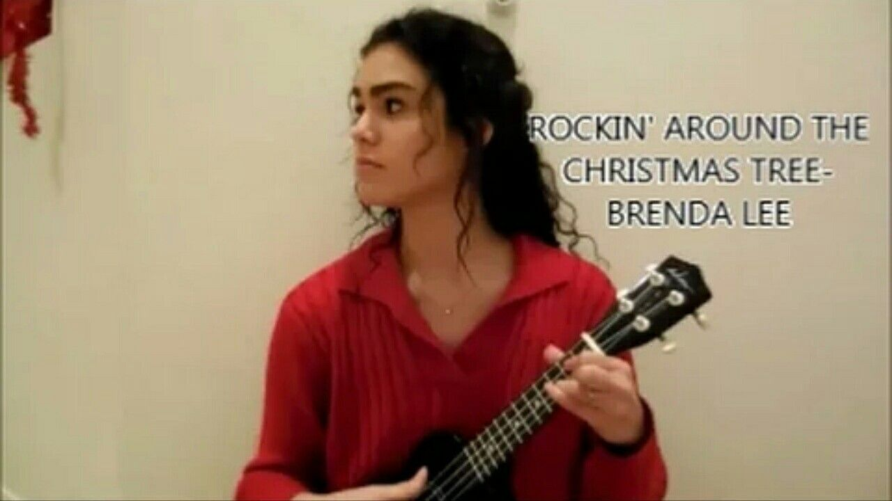 Rockin around the Christmas tree- Brenda Lee//Cover// Link is in my ...
