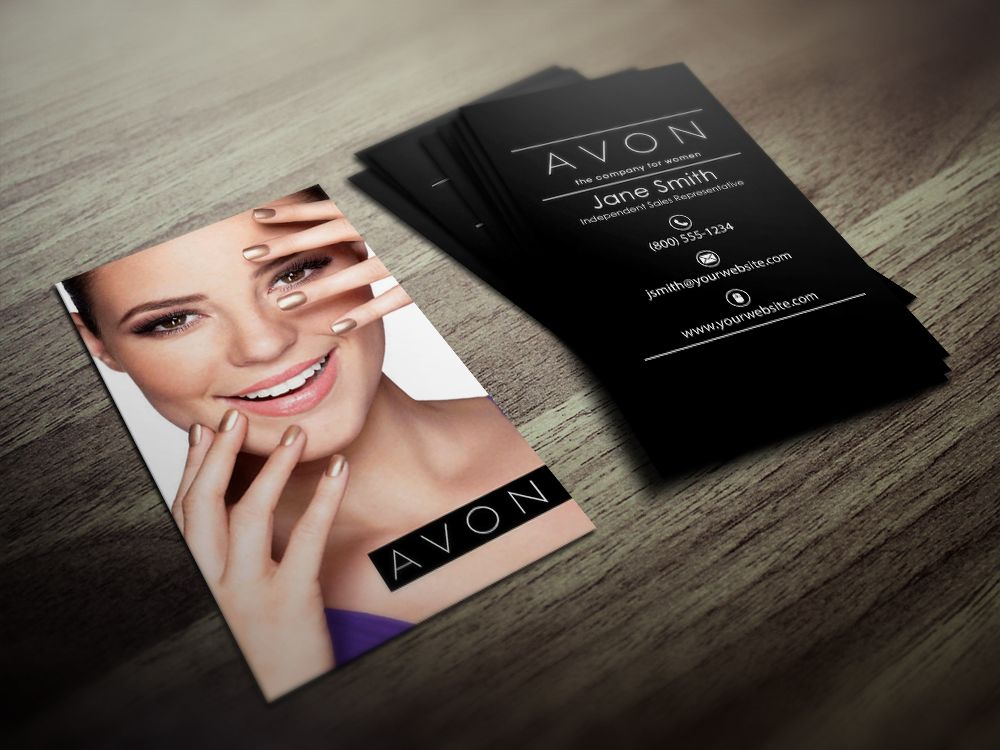 Avon Business Cards | Avon and Business cards