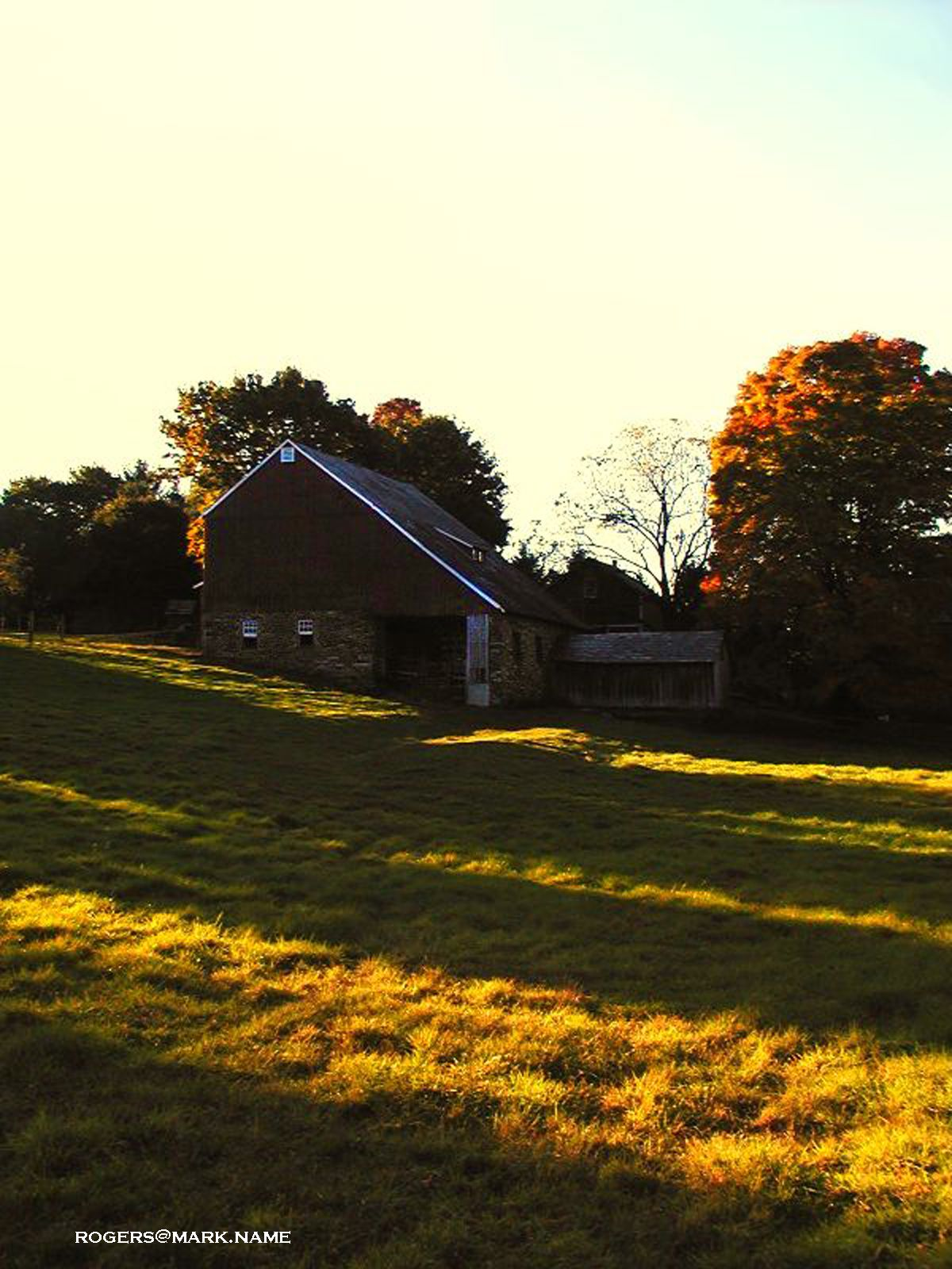 October Late afternoon at Isaac Stover County Park