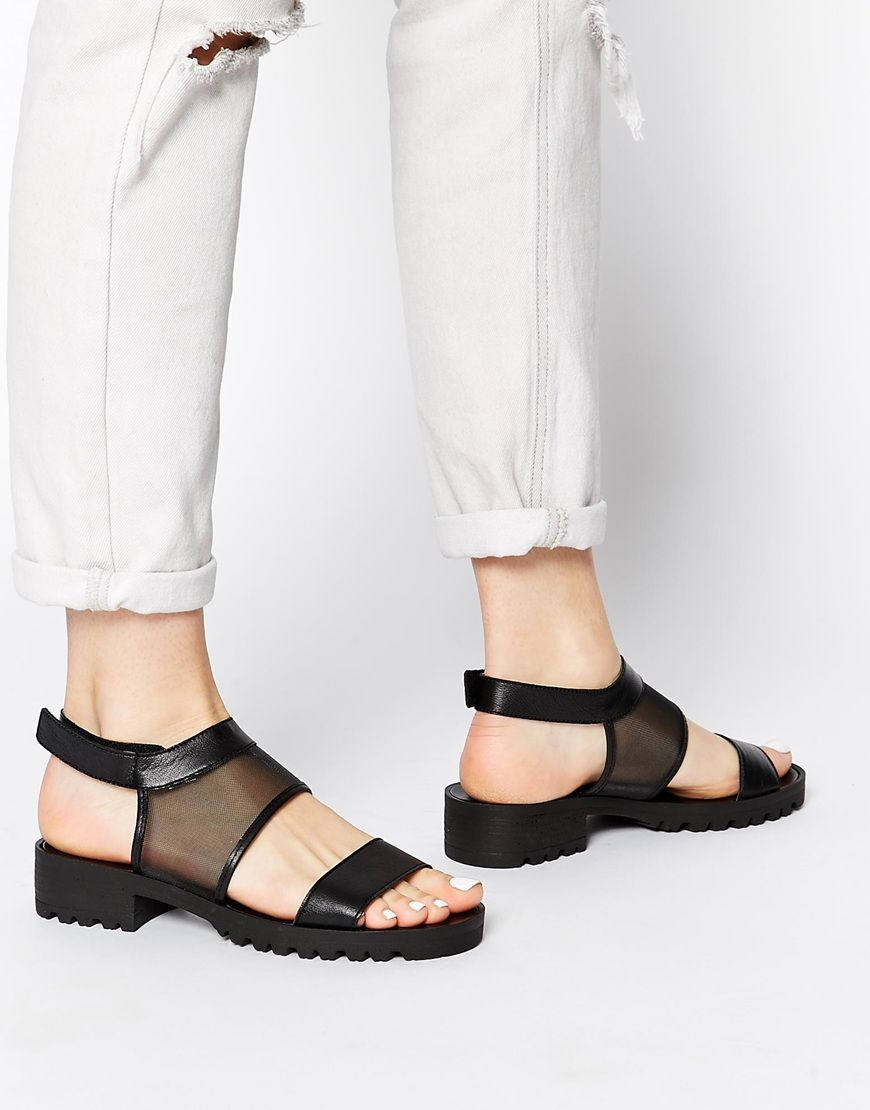 Black mesh sandals - Black Mesh Sandals 2