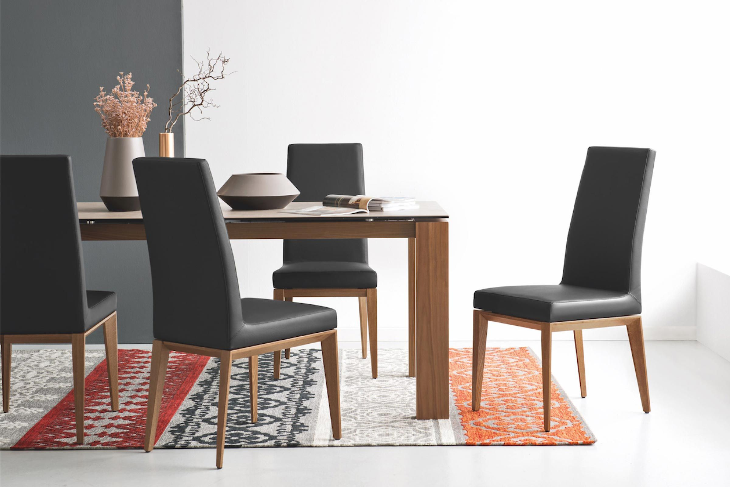 Omnia Dining Chairs Modern Dining Chairs Contemporary Dining Table