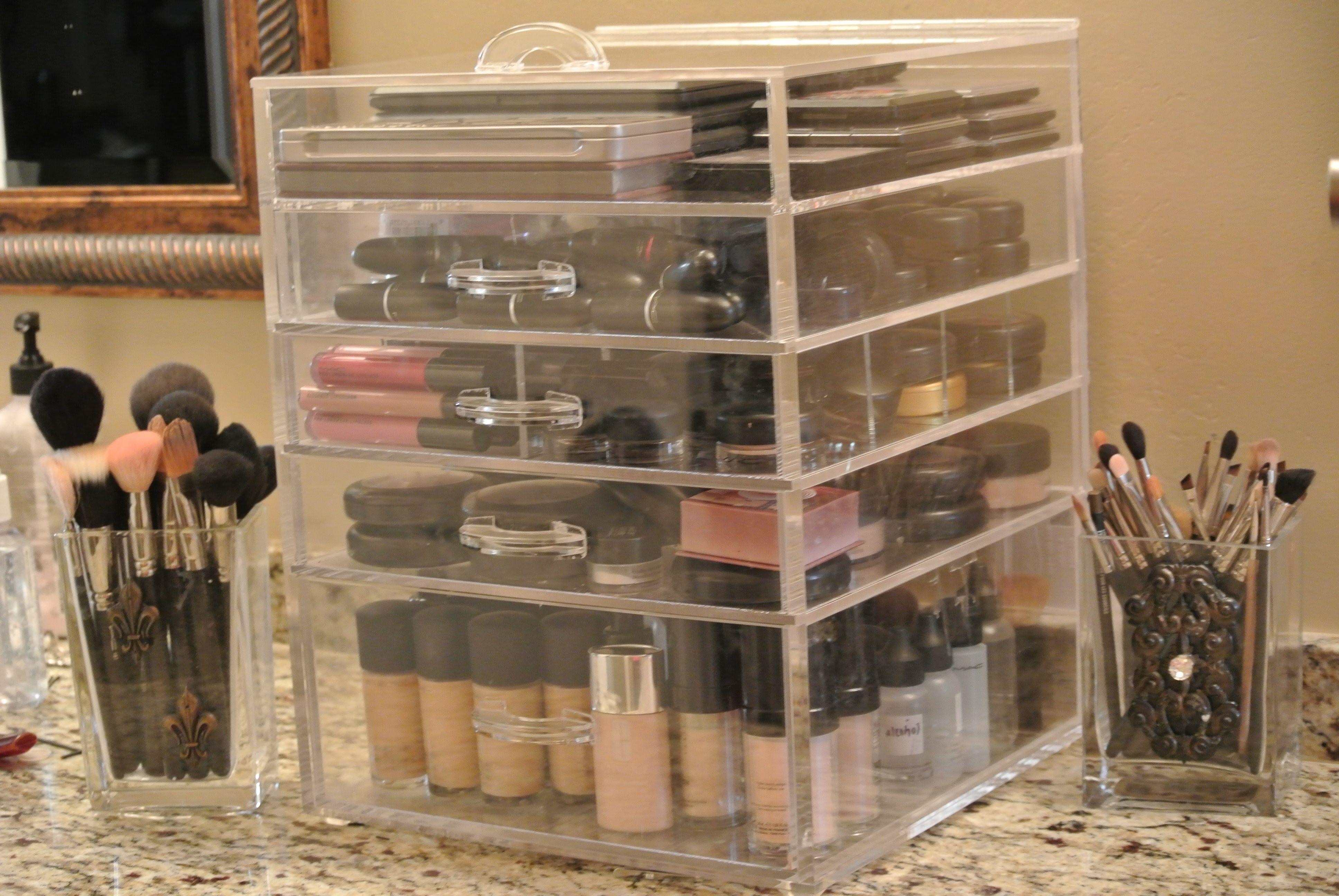 kardashian makeup organizer First things first GET