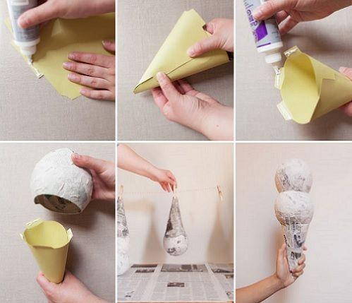 Como hacer conos de papel imagui - Hacer conos papel ...
