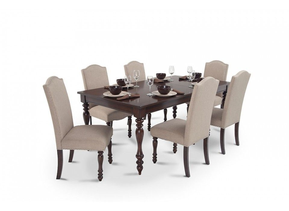 Chateau 7 Piece Dining Set | Dining Room Sets | Dining Room | Bob's  Discount Furniture - Chateau 7 Piece Dining Set Dining Room Sets Dining Room