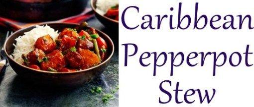 Caribbean Pepperpot Stew Slimming World recipe