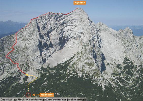 Klettersteig Däumling : Klettersteig: josefinensteig in Österreich steiermark im gebirge