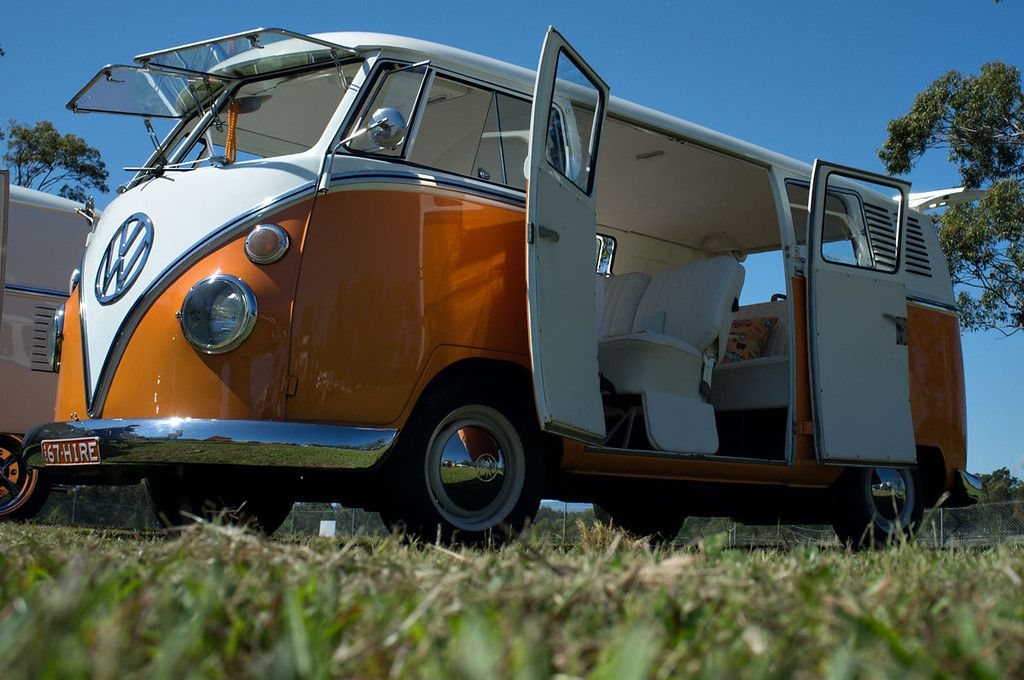Love The Orange Barn Doors Vwbus Pinned Originally To Https