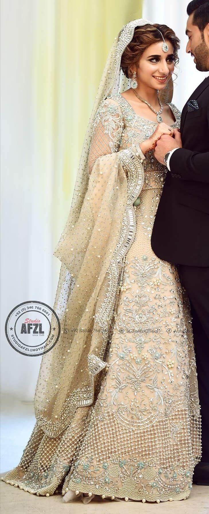 Dress to wear at a wedding  Pin by Reeta Arya on Brides  Pinterest  Walima Pakistani bridal