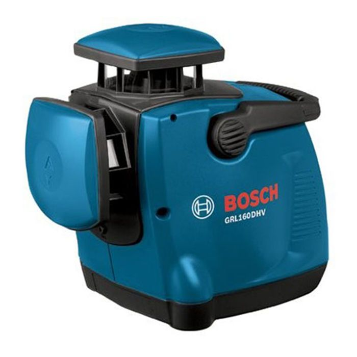 Bosch Grl 160dhv Dual Axis Self Levling Rotary Laser Kit Measurement Tools Bosch Rotary