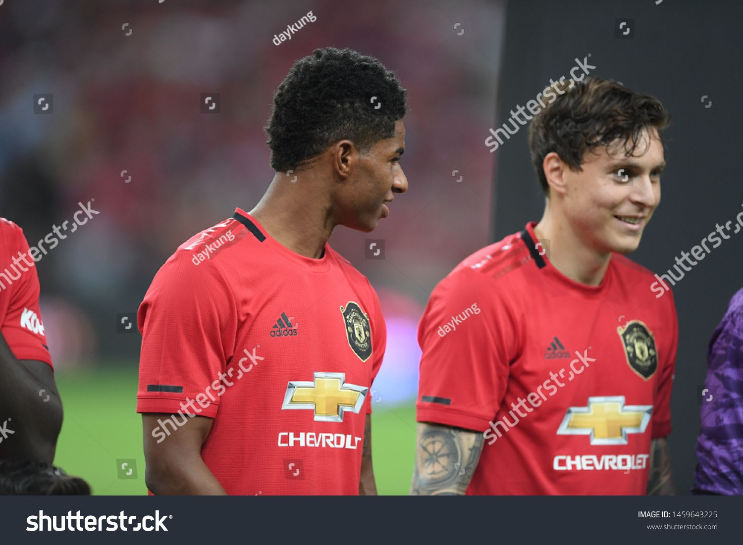 Kallang Singapore 20jul2019 Marcus Rashford 10 Player Of Manchester United In Action During Icc2019 Between Manches In 2020 Marcus Rashford Manchester United The Unit
