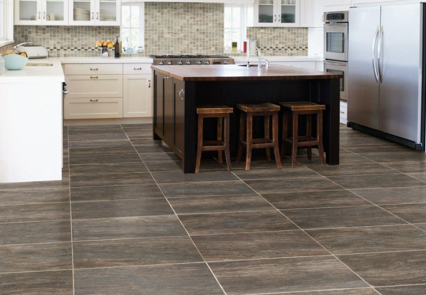 Dark Tile Floor Kitchen Classy Marazzi Kitchen Tile Flooring In Phoenix Az  Ktichen Gallery Review