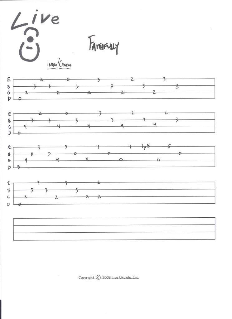 Clem Snide Faithfully Snide Ukulele Sheet Music