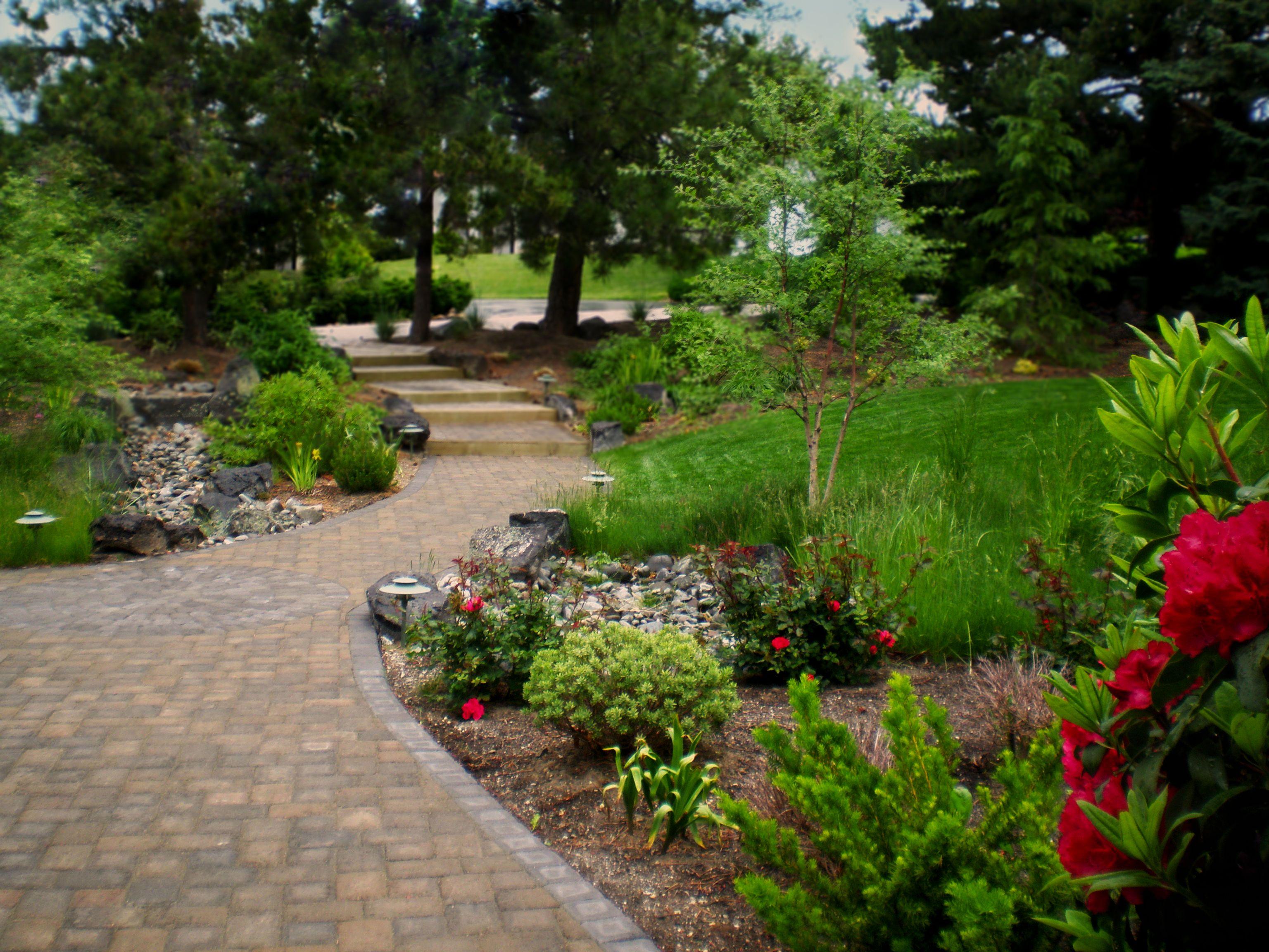 Romanticpathandsteps The Garden Artist Boise Idaho Landscape Design Garden Landscape
