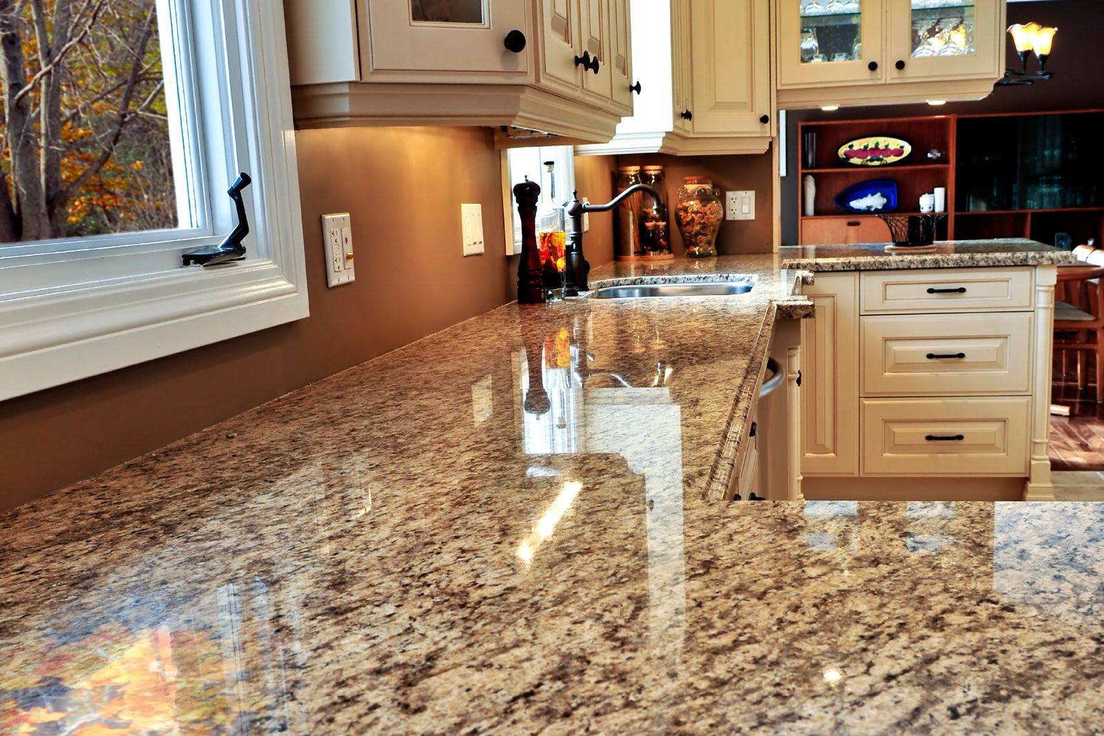 Laminate kitchen countertops that look like granite