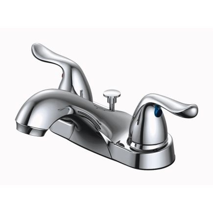 Oakbrook Pacifica Series Chrome Finish Two Handle Lavatory Faucet