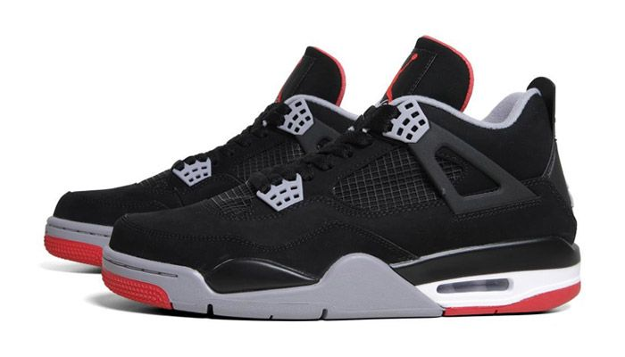air jordan 4 bred size 9\/5 as a decimal