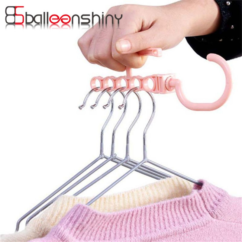 Balleenshiny Plastic Clothes Hook Rack Holder For Outdoor