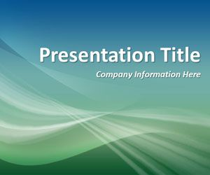 abstract curves powerpoint template is a new background for, Modern powerpoint