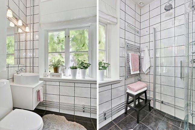INSPIRACIÓN DECO: Un piso blanco total con toques en rosa