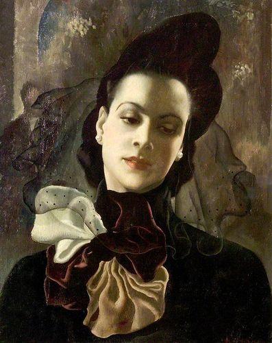"Doris Clare Zinkeisen, ""Dark Lady"""