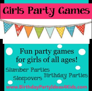 Jogos para festas de aniversário- MENINAS em: http://www.birthdaypartyideas4kids.com/girl-party-games.htm
