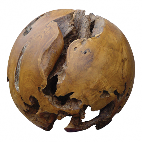"Teak Ball - Style no. 927  Sizes range from 20"" to 35"" in diameter"