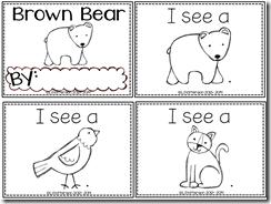 Pocket Full Of Kinders Freebies Brown Bear Book Brown Bear Brown Bear Activities Kindergarten Themes