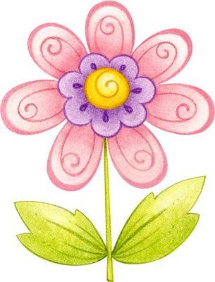 Flores Coloreadas Para Imprimir Flower Drawing Flower Art