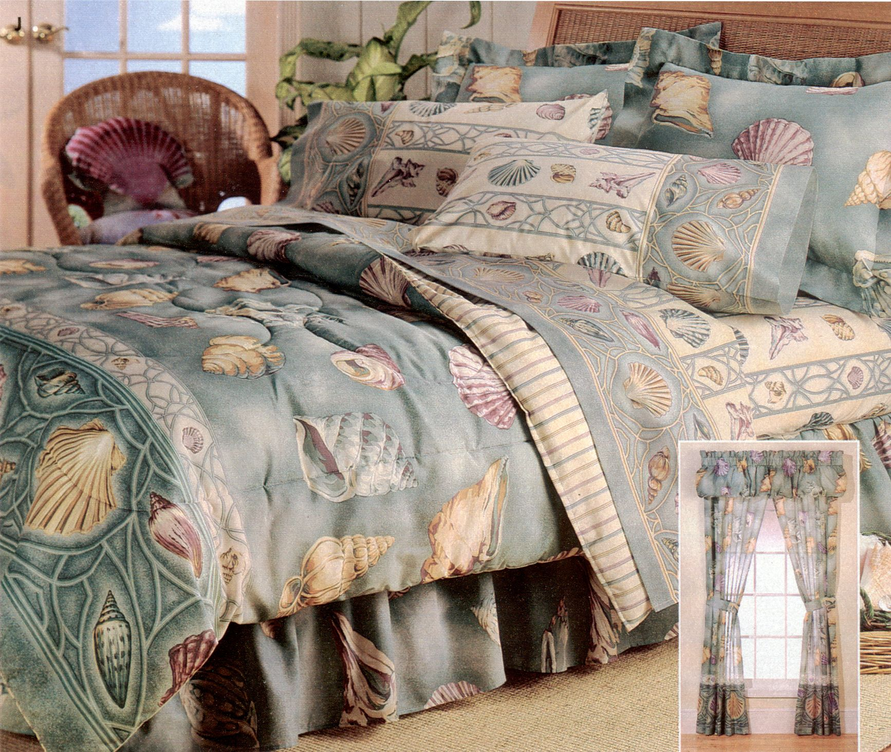 Seashell Comforter Set | Seaside Inspiration