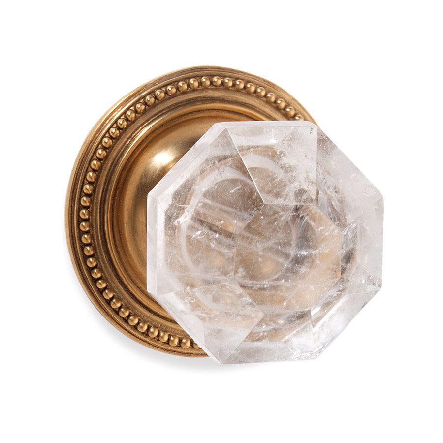 Sherle Wagner International   Semiprecious Diamond Door Knob U2013  (0024DOR RKCR AG)