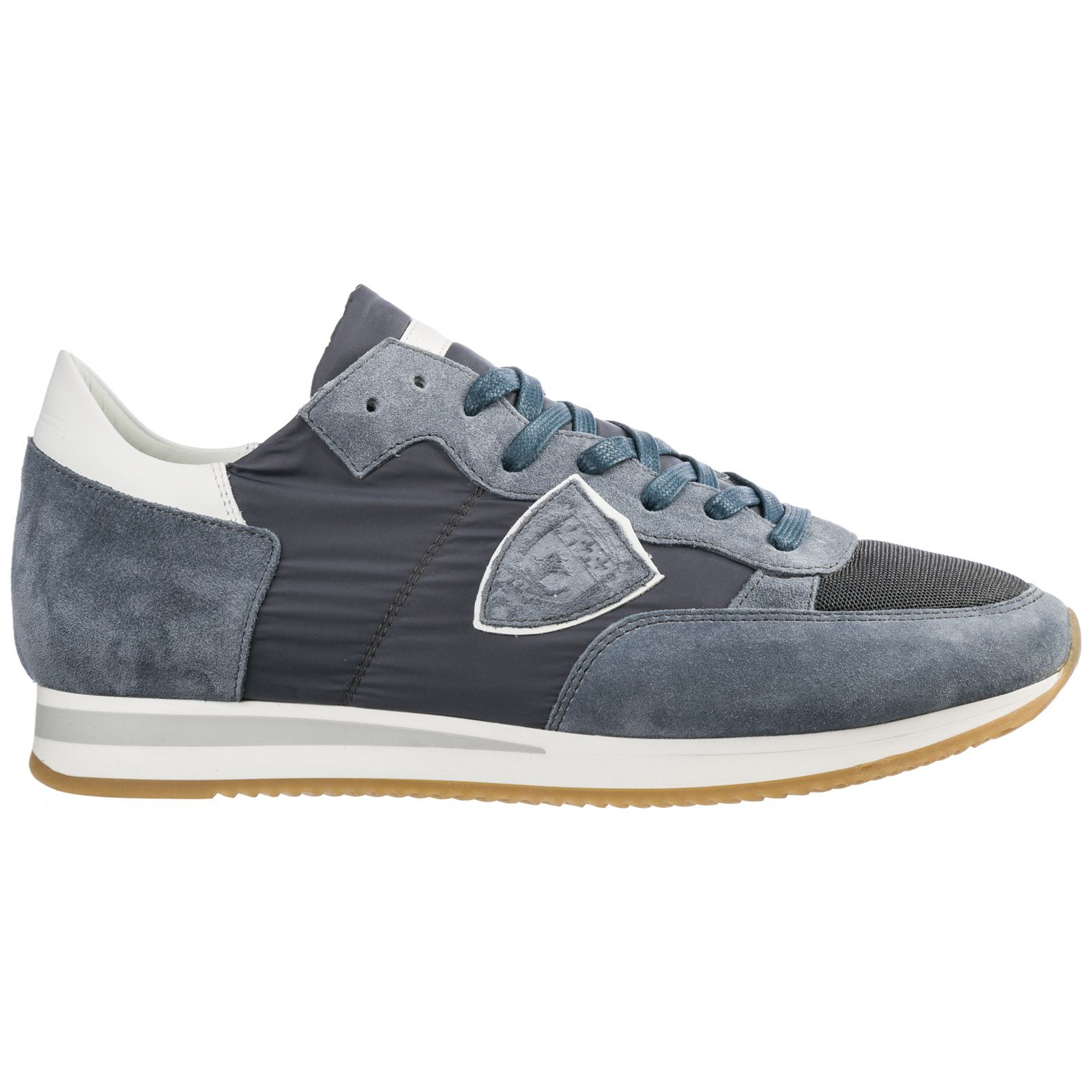 PHILIPPE MODEL MEN'S SHOES SUEDE TRAINERS SNEAKERS TROPEZ