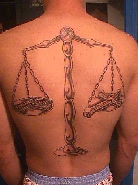 Scales Of Justice Justice Tattoo Scales Of Justice Tattoo Body Art Tattoos