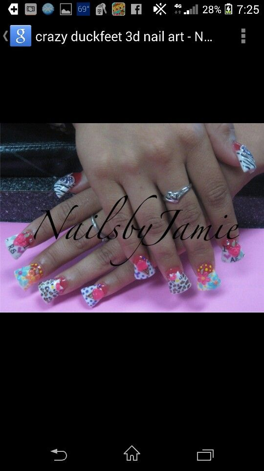 Pin by Leida on Fab nails! | Pinterest