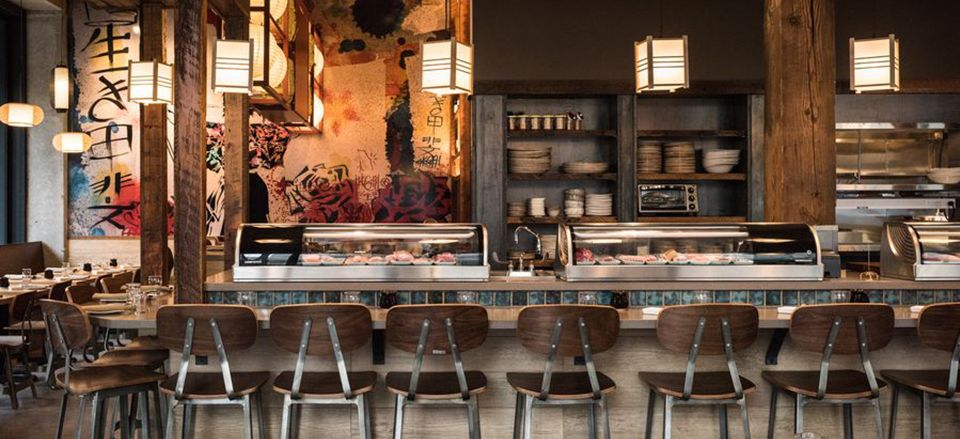 Pin by anthony carrino design on sushi restaurant design