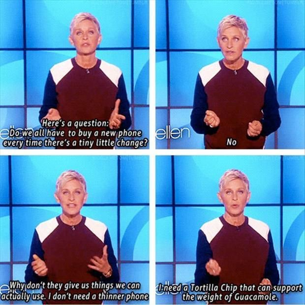 Commercial Quotes Delectable Ellen Degeneres Quotes  I Love This One  It's More Touching And