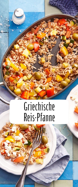 Mediterrane Reis-Gemüse-Pfanne mit Hackfleisch #beefdishes