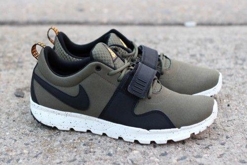 6877c4a56bca Nike SB Trainerendor Olive
